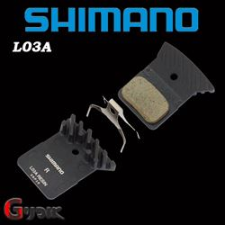 תמונה של רפידות ברקס מקוריות לאופני כביש Shimano L03A