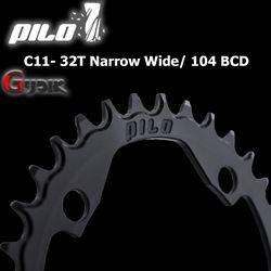 תמונה של גלגל שיניים Pilo C11 32T Narrow Wide