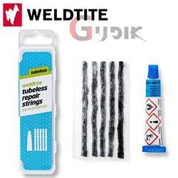 תמונה של ערכת תולעים לתיקון צמיגי טיובלס Weldtite Repair Strings
