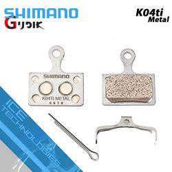 תמונה של רפידות ברקס מקוריות Shimano K04Ti Metal