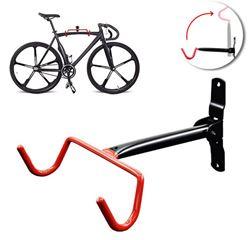 תמונה של מתלה אופניים מתקפל לקיר