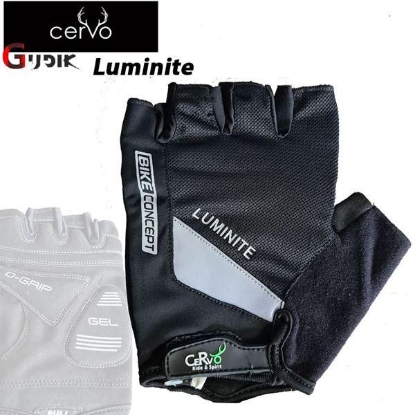 תמונה של כפפות רכיבה קצרות Cervo Luminite