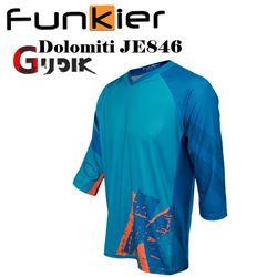 תמונה של חולצת רכיבה 3/4 קיץ גברים Funkier JE846