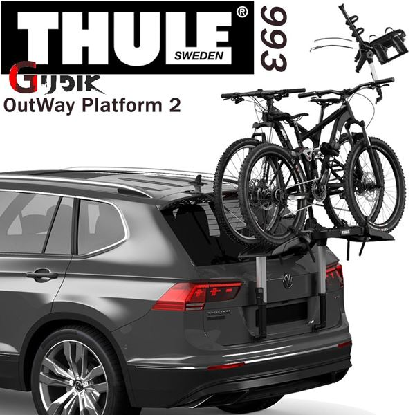 תמונה של מנשא משטח אחורי ל-2 אופניים Thule OutWay Platform 993