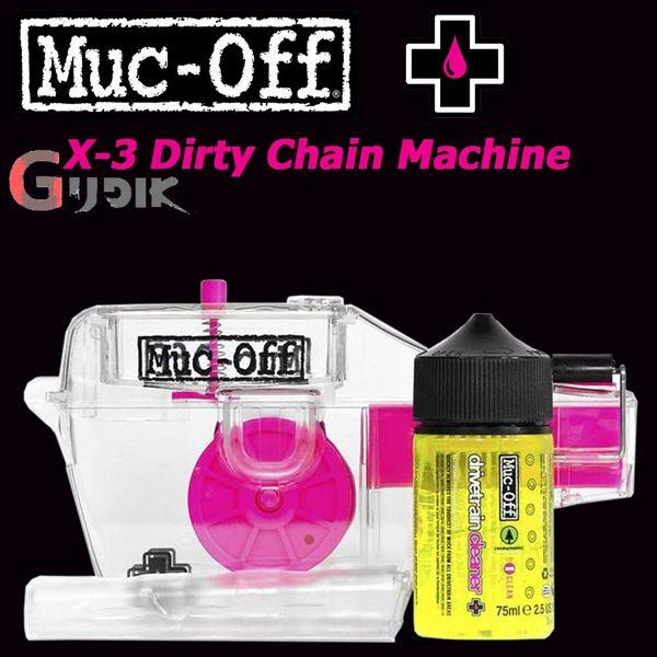 תמונה של מארז ניקיון וטיפול לשרשרת Muc Off X3 Dirty Chain