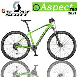 תמונה של אופני Scott Aspect 750 2021