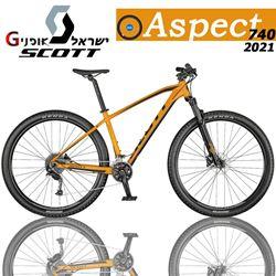 תמונה של אופני Scott Aspect 740 2021